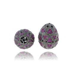 Ruby Diamond Beads