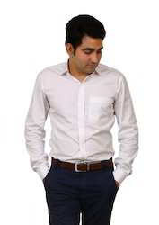 Polyester Cotton Male Formal Shirts