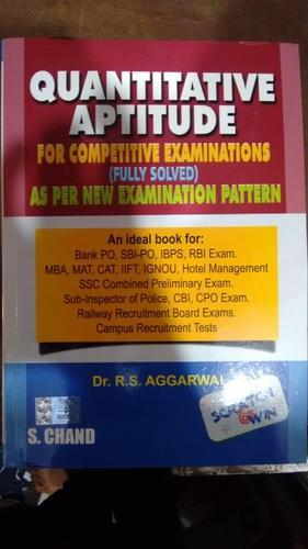 Quantitative aptitude by r s aggarwal at rs 380 piece general quantitative aptitude by r s aggarwal fandeluxe