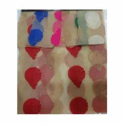 Banarasi Net Jacquard Fabric