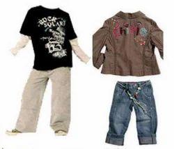 Girl & Boy Kids Fashion Wear