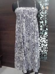 Printed Ladies Gown