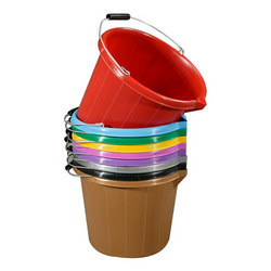 Plastic Color Bucket