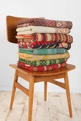 Vintage Sari Quilt Reversible Quilt