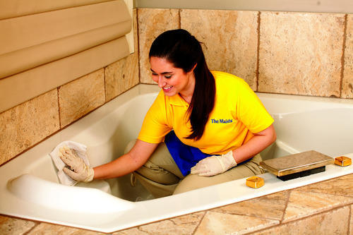 Bathroom Cleaning Services Washroom Cleaning Services Tanuja - Bathroom cleaner person