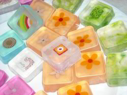 Square Orange Hotel Glycerin Soaps, For Body Bar, Packaging Size: 20gm