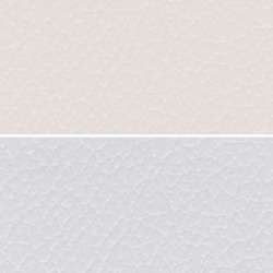 White Colored Seat PVC Leather Cloth