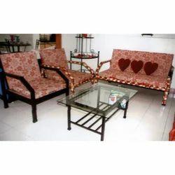 Wrought Iron Metal Sofa