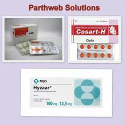 Hyzaar, Costart -H, Tozaar Plus Ds Tablets
