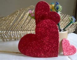 Heart Shape Glitter