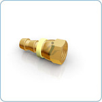 Brass 37 JIC Flare Female Swivel
