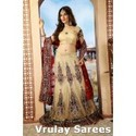 ClaClassissic Captivating Buttercream Shantoon Lehenga Choli