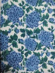 Small Flower Printed Cotton Fabric