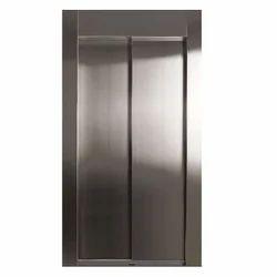 Center Opening Elevator Doors