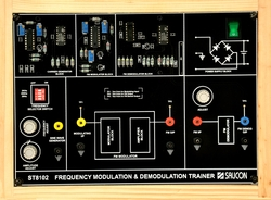 Frequency Modulation and Demodulation Trainer- ST8102