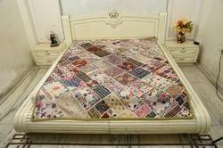 Khambadiya Handmade Bed Cover