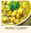 Papad Curry