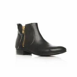 Ladies Ex-Cut Leather Shoes
