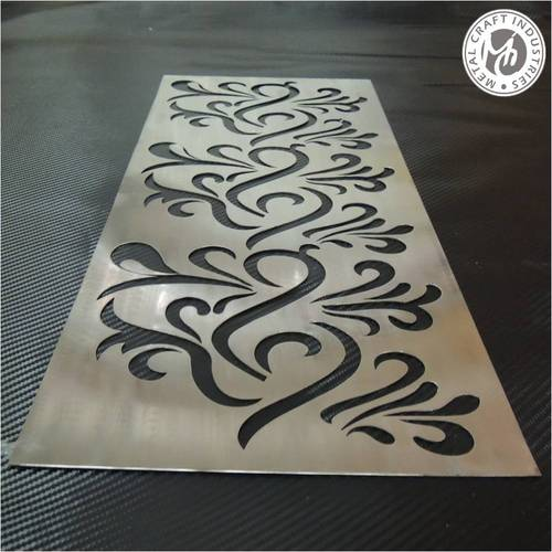Acrylic sheet cutting designs images for Glass cut work designs