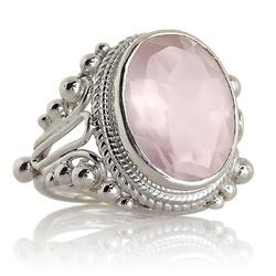 Oval Rose Quartz Gemstone