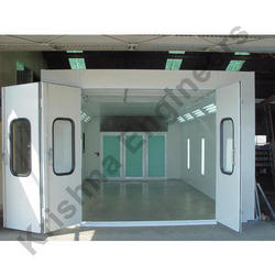 End Draft Paint Spray Booth