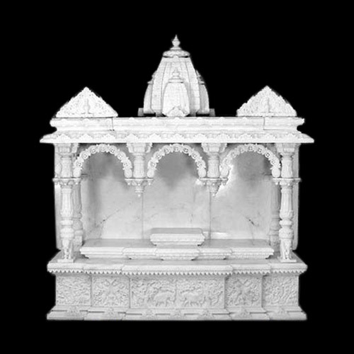 Marble Mandir - White Marble Mandir Manufacturer from Jaipur