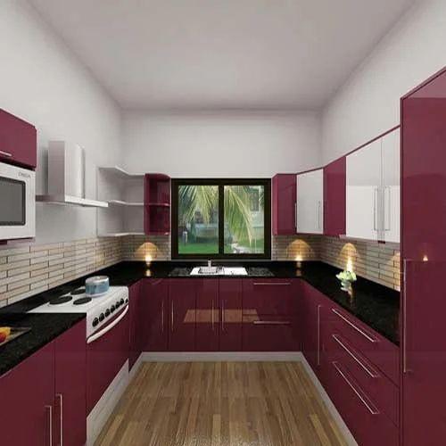 U Shaped Kitchen At Rs 150000
