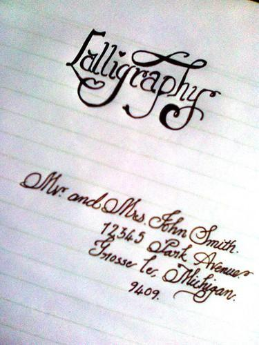 Product Image Read More English Calligraphy Writing
