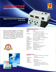 Digital Clinical Flame Photometer Model:LJ-391