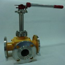 3 Way Cryogenic Ball Valves
