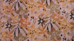Open Small Flower Cotton Double Bedsheet