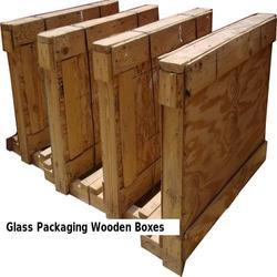 Glass Packaging Wooden Boxes