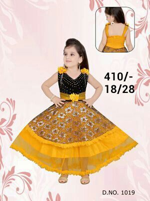 c04c5789487bc Long Frock at Rs 200 /onwards | Children Frock, किड्स ...