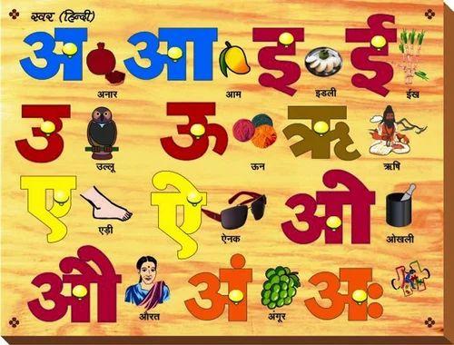 Summary -> Hindi Alphabet Writing Book Vyanjan Lekhan English And