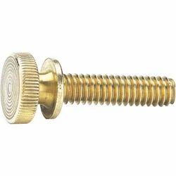 Brass Knurled Knob Bolt
