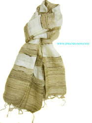Tussah Silk Natural Stole