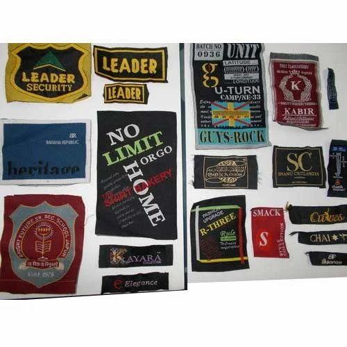 Custom sticker designer woven sticker manufacturer from jaipur