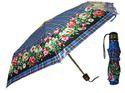 Natural Enterprises 3 Fold Ladies Printed Umbrella