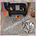 Leather Shaggy Carpets