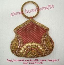 Bag Jardoshi Work with Antic Bangle 3