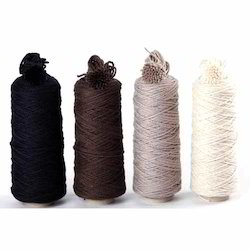 Colored Wool Carpet Yarn