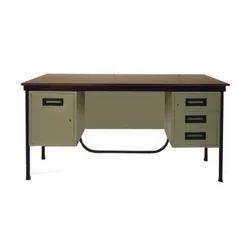Harihar Steel CRCA Sheet 4 Drawer Office Table
