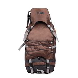 Dark Brown Backpack Rucksack Bag