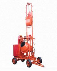 Lift Type Concrete Mixer