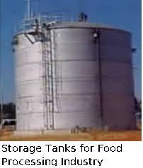 Storage Tanks for Food Processing Industry