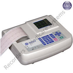 RMS 3 Channel ECG Machine, Hospital And Clinical