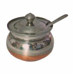 Copper Bottom Ghee Pot