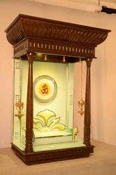 Modern Wooden Mandir Creata Interior Concepts Manufacturer