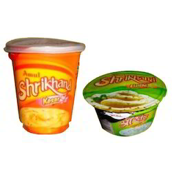 Heat Sealable Films for Shrikhand Kesar Packaging