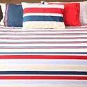 4pcs Stripes Bed Sheet Set